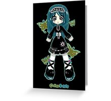 Gothic Lolita by Lolita Tequila Greeting Card