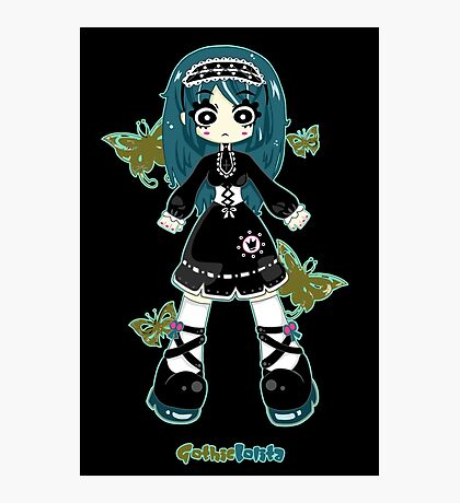 Gothic Lolita by Lolita Tequila Photographic Print