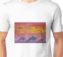 Dolphin magic Unisex T-Shirt
