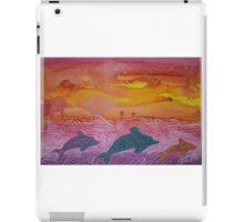 Dolphin magic iPad Case/Skin