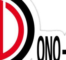 Ono-Sendai Logo broad Sticker