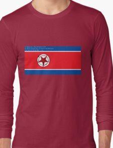 North Korea x Satan Long Sleeve T-Shirt
