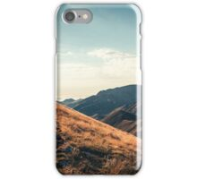 Mountains in the background XXIII iPhone Case/Skin