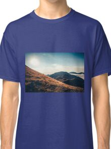 Mountains in the background XXIII Classic T-Shirt
