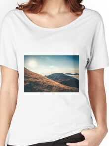 Mountains in the background XXIII Women's Relaxed Fit T-Shirt
