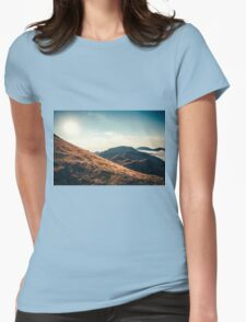 Mountains in the background XXIII Womens Fitted T-Shirt