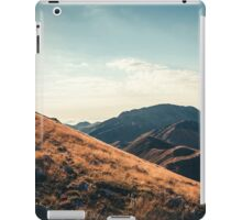 Mountains in the background XXIII iPad Case/Skin