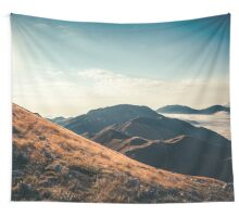 Mountains in the background XXIII Wall Tapestry