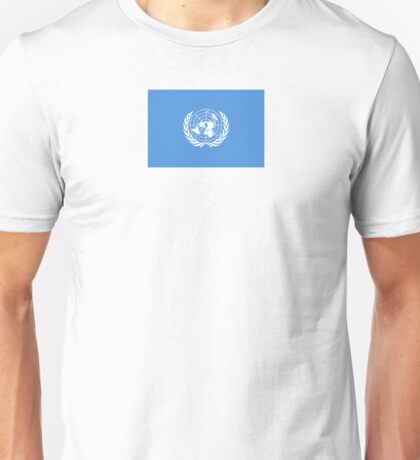United Nations Flag Products Unisex T-Shirt