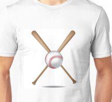 Baseball bats and baseball Unisex T-Shirt
