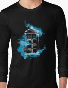 Watery TARDIS Long Sleeve T-Shirt
