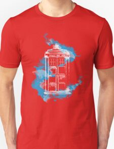Watery TARDIS T-Shirt
