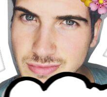 Joey Graceffa - Flowers Crown Sticker