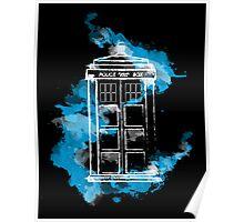 Watery TARDIS Poster