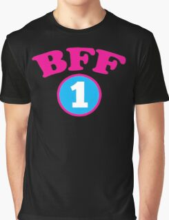 BFF 1 Best friends forever number 1 with matching 2 Graphic T-Shirt