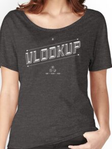 VLOOKUP Women's Relaxed Fit T-Shirt