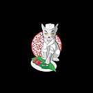 No-one but me makes the sushi (Japanese cat chef) by jazzydevil