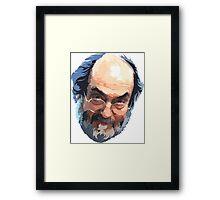 Stanley Kubrick Head Framed Print