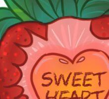 Strawberry Sweetheart Sticker