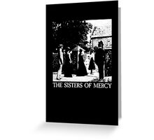 The Sisters of Mercy - The Worlds End - The Damage Done Greeting Card