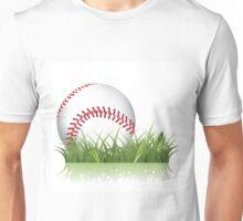 Baseball in the grass Unisex T-Shirt