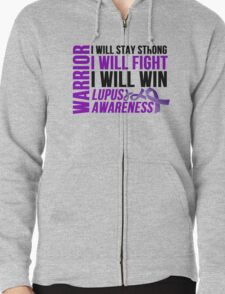 Lupus Warrior Stay Strong Fight Win T-Shirt