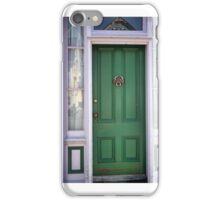 Crabby Door - Lunenburg Nova Scotia iPhone Case/Skin