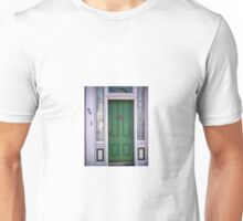 Crabby Door - Lunenburg Nova Scotia Unisex T-Shirt
