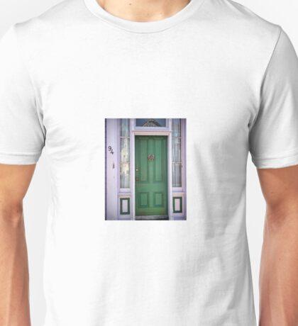 Crabby Door - Lunenburg Nova Scotia Unisex T-Shirt