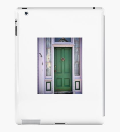 Crabby Door - Lunenburg Nova Scotia iPad Case/Skin