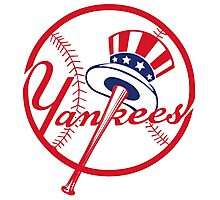 the yankees Photographic Print
