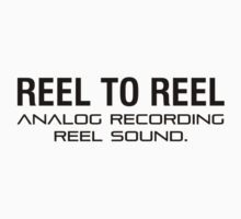 Reel To Reel Analog Recording One Piece - Short Sleeve