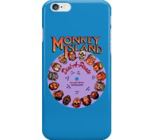 MONKEY ISLAND - DISC PASSWORD iPhone Case/Skin