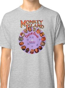 THE SECRET OF MONKEY ISLAND - DISC PASSWORD Classic T-Shirt