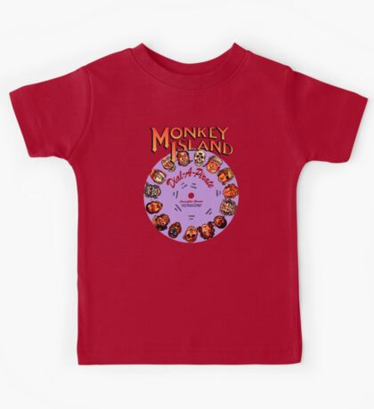 THE SECRET OF MONKEY ISLAND - DISC PASSWORD Kids Tee