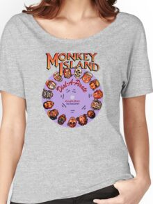 MONKEY ISLAND - DISC PASSWORD Women's Relaxed Fit T-Shirt