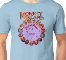 THE SECRET OF MONKEY ISLAND - DISC PASSWORD Unisex T-Shirt