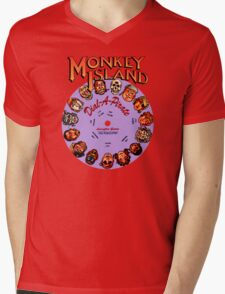 MONKEY ISLAND - DISC PASSWORD Mens V-Neck T-Shirt