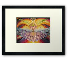 Visionary Lotus Framed Print