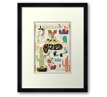 Play all day... Framed Print