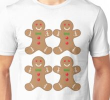 gingerbread pattern Unisex T-Shirt