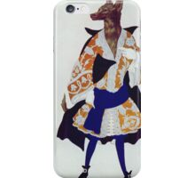 Leon Bakst - The  Wolf. Dancer painting: wolf, ballet, dance, designer, choreography, music, theatre, dancer,  music, dress, costume iPhone Case/Skin