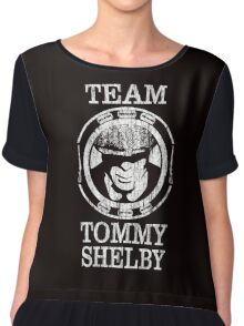 Team Tommy Shelby. Peaky Blinders. Women's Chiffon Top