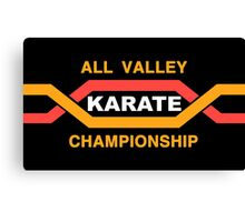 ALL VALLEY KARATE CHAMPIONSHIP 1984 Canvas Print