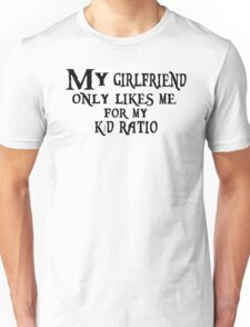 K/D Ratio Unisex T-Shirt