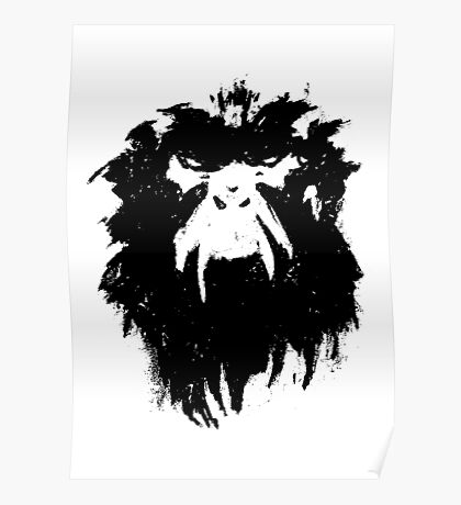 12 Monkeys - Terry Gilliam - Wall Drawing Black Poster
