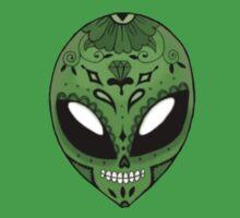 Alien Sugar Skull Comic book effect One Piece - Short Sleeve