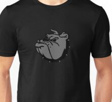 angry tough black bullgog Unisex T-Shirt