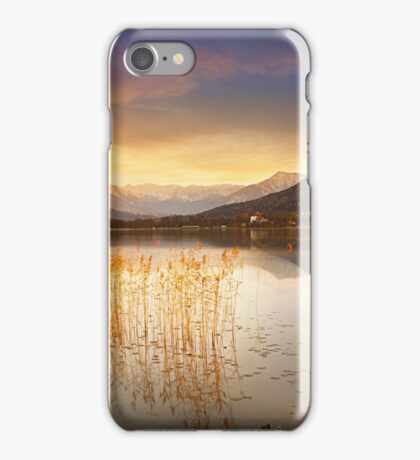 Scirocco clouds over Wörthersee iPhone Case/Skin