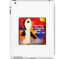Who's on the Good List? - by Colin iPad Case/Skin